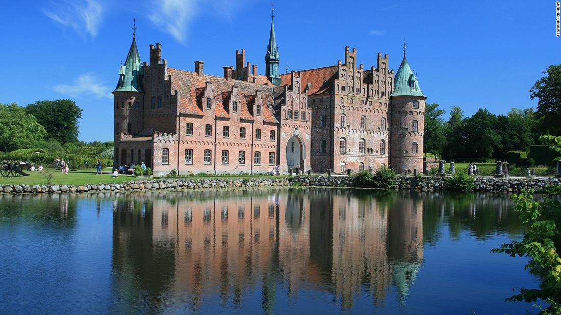 Most beautiful castles in Denmark