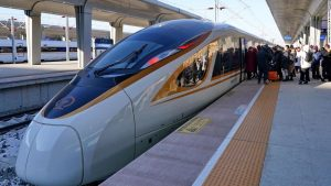 Driverless bullet train in China goes into service