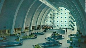 Inside New Orleans' abandoned airport terminal